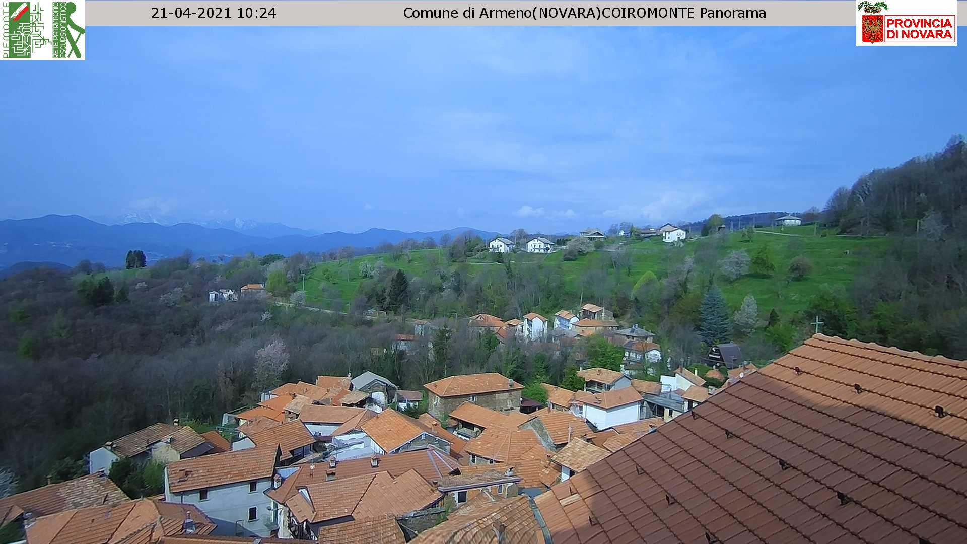 Live from Armeno! Use your browser refresh button to update!
