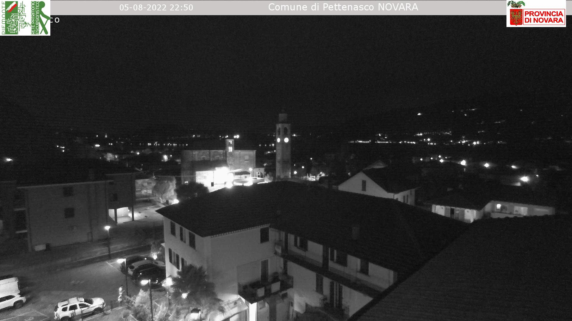 WebCam Pettenasco, Provincia Novara